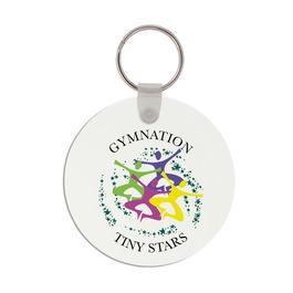 Round Gymnastics, Cheer & Dance Keychain