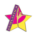 Gymnastics, Cheer & Dance Lapel Pins - Soft Enamel