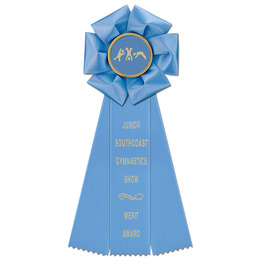 Beauty Gymnastics, Cheer & Dance Rosette Award Ribbon