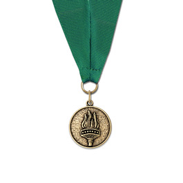 CX Hockey Award Medal w/ Any Grosgrain Neck Ribbon