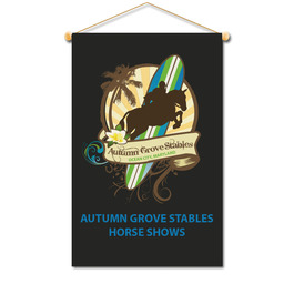 Cloth Mini Horse Show Banners