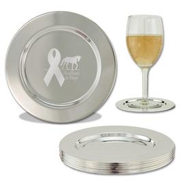 Engraved Award Coasters w/ Logo
