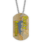 Full Color Dusty Bottoms Dog Tag