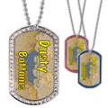 Full Color GEM Dusty Bottoms Dog Tag