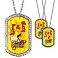 Full Color GEM Turn and Burn Dog Tag