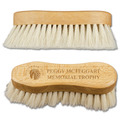 Engraved Soft Goat Hair Horse Face Brushes w/ Text & Logo