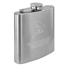 Stainless Horse Show Award Flask