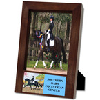 Espresso Hard Wood Horse Show Award Frame