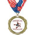 XBX Horse Show Award Medal w/ Millennium Neck Ribbon