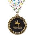GFL Horse Show Award Medal w/ Millennium Neck Ribbon