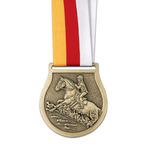 VX Horse Show Award Medal w/ Grosgrain Neck Ribbon