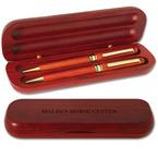 Rosewood Pen and Pencil Set Horse Show Award