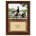 Dressage Award Plaque - Cherry Finish