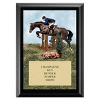 Hunter/Hunt Seat Equitation Horse Show Award Plaque - Black