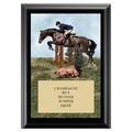 Hunter/Hunt Seat Equitation Award Plaque - Black