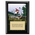 The Hunt Horse Show Award Plaque - Black