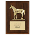 Quarter Horse Award Plaque