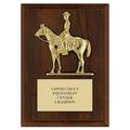 Quarter Horse w/ Rider Award Plaque