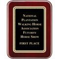 Rosewood Piano Horse Show Award Plaque
