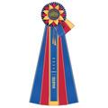 Guernsey Rosette Award Ribbon