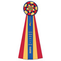 Newton Rosette Award Ribbon