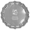 Pewter Chippendale Horse Show Award Tray