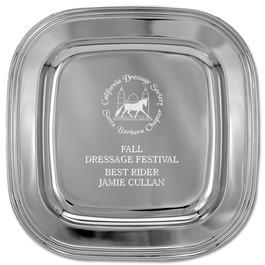 Square Horse Show Award Tray