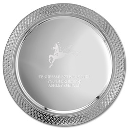 Lattice Edge Horse Show Award Tray
