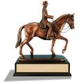 Male Dressage Horse Show Award Trophy