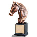 Horse Head Horse Show Award Trophy