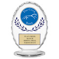 Free Standing Oval Horse Show Trophy