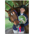 Horse Show Award Canvas Print Panels