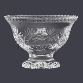 Durham Crystal Pedestal Bowl Horse Show Trophy