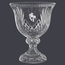 Durham Crystal Footed Bowl Horse Show Trophy