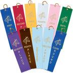 Stock Horse Show Award Ribbon
