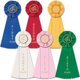 Stock Empire Horse Show Rosette Award Ribbon