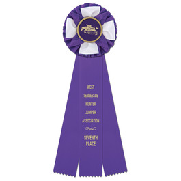 Iverson Horse Show Rosette Award Ribbon