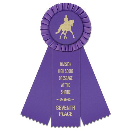 Mere Horse Show Rosette 6 Hodges Badge Company Inc