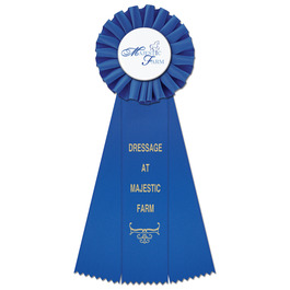 Ideal Horse Show Rosette Award Ribbon