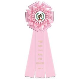 Bath Horse Show Rosette Award Ribbon