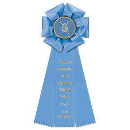 Beauty Horse Show Rosette Award Ribbon