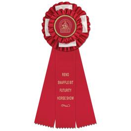 Birmingham Horse Show Rosette Award Ribbon