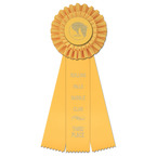 Luxury Horse Show Rosette Award Ribbon