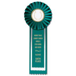 Alton Horse Show Rosette Award Ribbon
