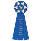 Ewell Horse Show Rosette Award Ribbon