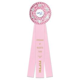 Cambridge Horse Show Rosette Award Ribbon