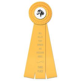 Dover Horse Show Rosette Award Ribbon
