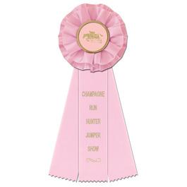 Carlisle Horse Show Rosette Award Ribbon