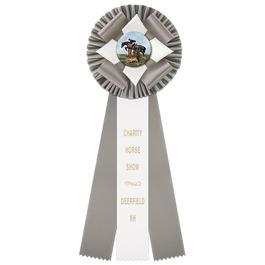 Malden Horse Show Rosette Award Ribbon