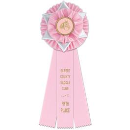 Liverpool Horse Show Rosette Award Ribbon
